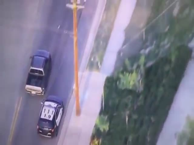 L.A. High Speed Chase With A Twist In The End