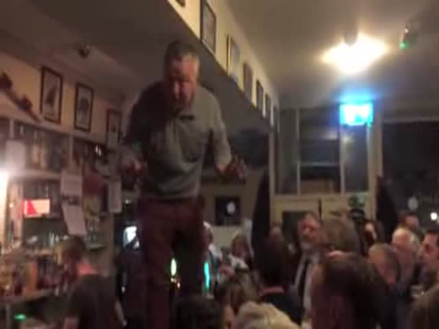 Locals In Ireland Paid Tribute To Their Late Friend On The Night Of His Funeral In The Best Way Possible