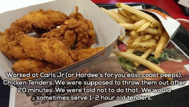 Fast Food Employees Confess What You Should Or Should Never Order