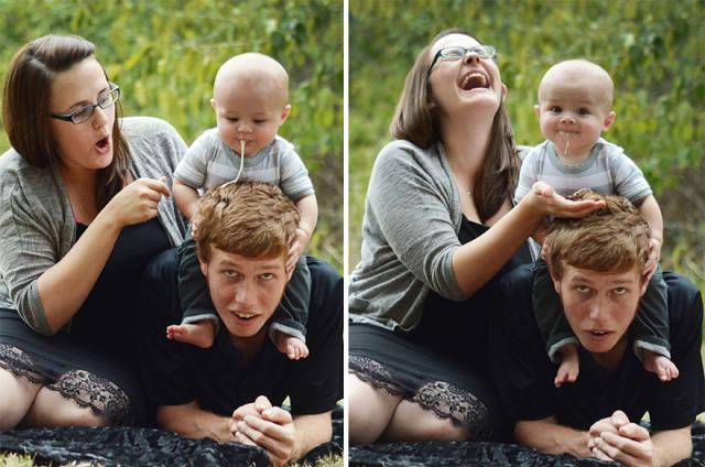 Newborn Photoshoots Gone Wrong