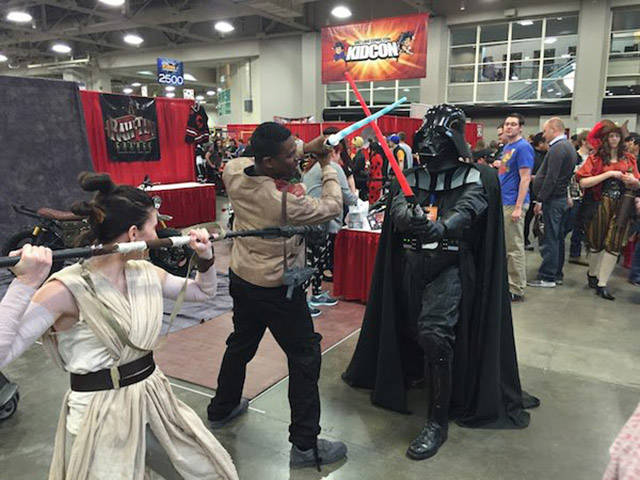 When You Cosplay Don't Do It Alone, Take Your Family With You