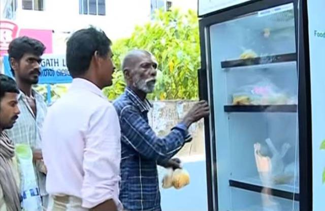 Why Do You Think There Is A Fridge In The Streets Of An Indian Town?