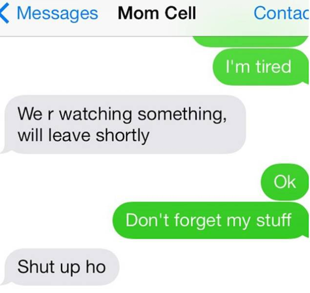 Texts From Your Family Can Be So Awkward And Funny At The Same Time