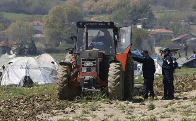 A Greek Farmer Took Radical Actions After Syrian Migrants Set Up A Camp In His Field
