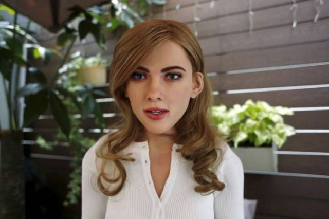 A Humanoid Robot Was Created That Is A Copy Of Scarlett Johansson