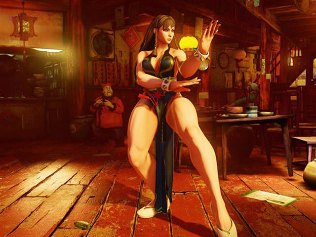 This Gal Has Legs Of The Street Fighter Character Chun-Li
