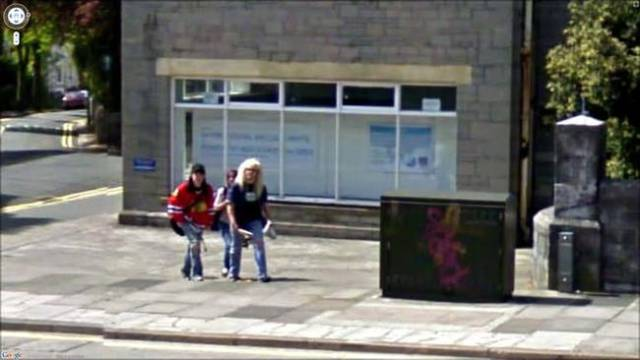 Moments Caught On Google Earth Couldn