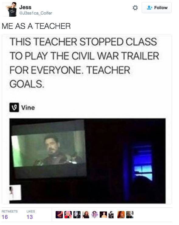 That Would Be Me As A Teacher