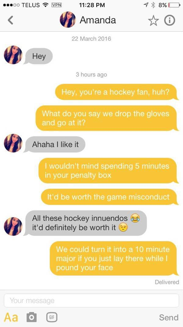 Apparently, A Lot Of Thirsty People Are On Tinder