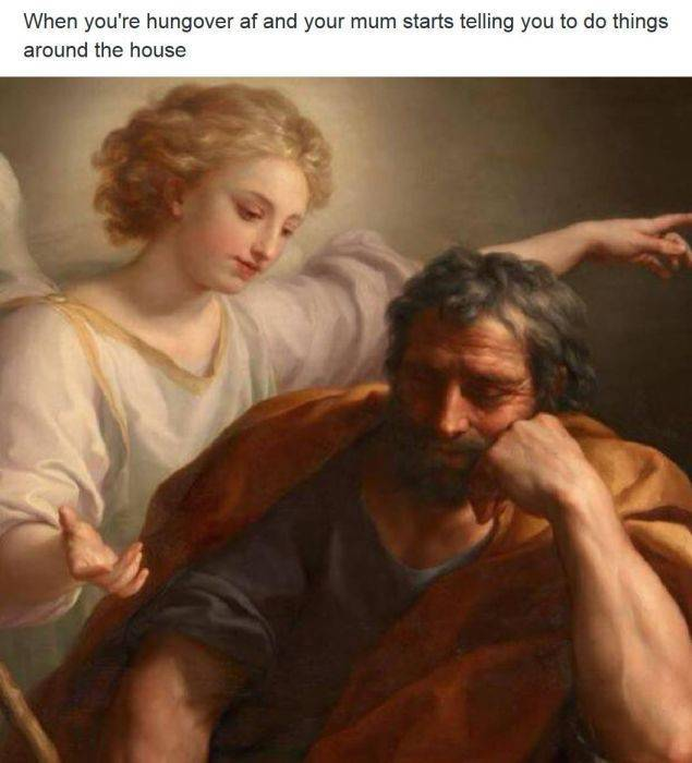 Funny Text Added To Famous Paintings Only Improved Them