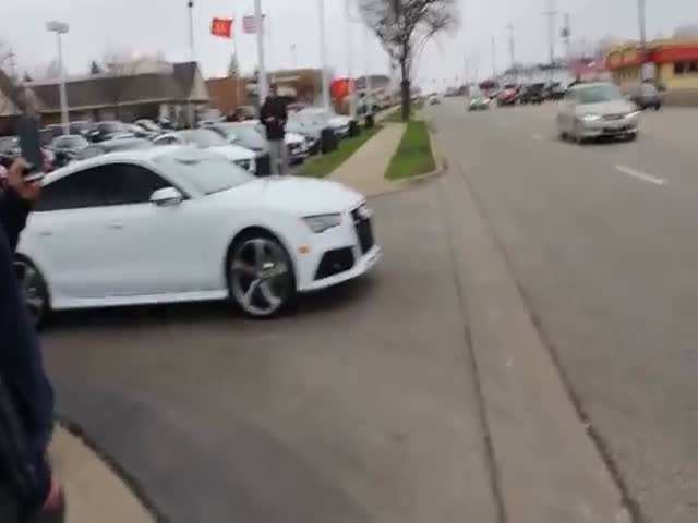 Reason Why Shouldn't F*cking Show Of When You're Driving A Brand New Car
