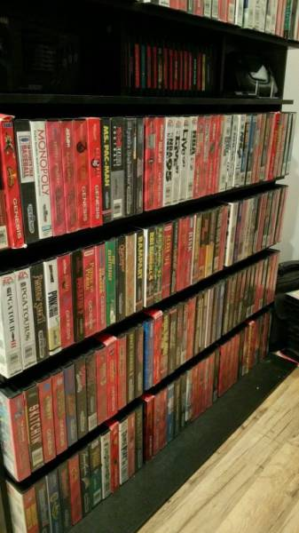Guy Sells His Video Game Collection For $150K