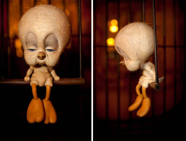 These Famous Cartoon Characters Would Look Terribly Creepy ...