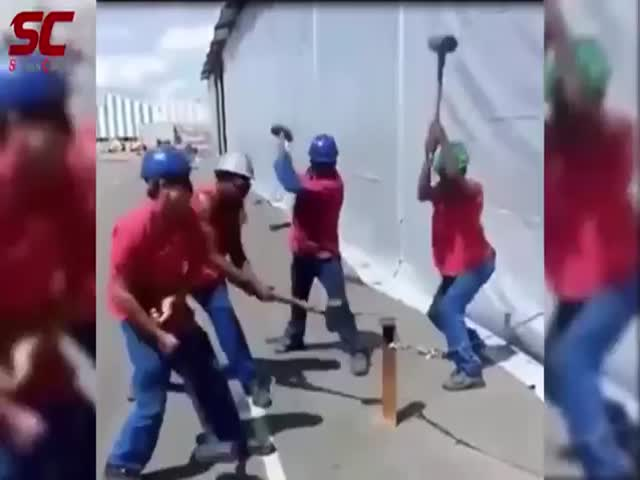 Compilation Of The Fastest Workers That Were Caught On Camera