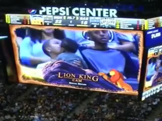 'Lion King Cam' Is  So Much Cooler Than 'The Kiss Cam'