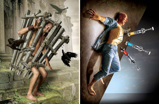 Surreal Illustrations With Hidden Meaning Show The Darker Side Of Modern Society