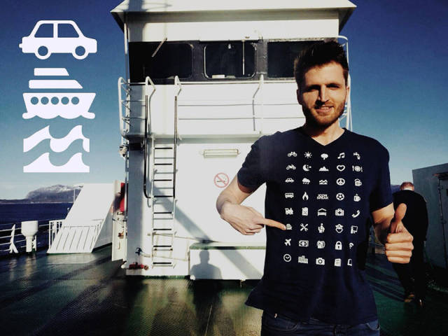 Clever Traveler T-Shirt Will Help You To Communicate In Any Country Without Knowing Its Language