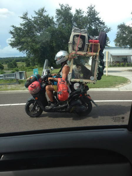 Funnies And Crazies With Motorcycles