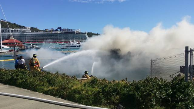 Beautiful $2,5 Million Yacht Perished In Flames On The Virgin Islands