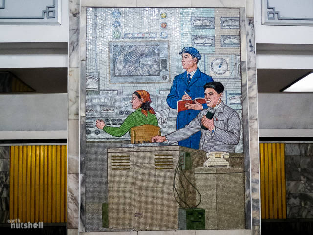 North Korean Subway Opens Its Stations To Foreigners