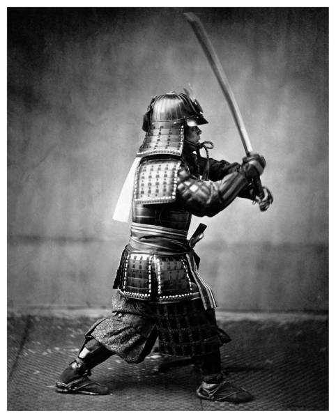 Rare Photos Of The Last Samurai From 1800s