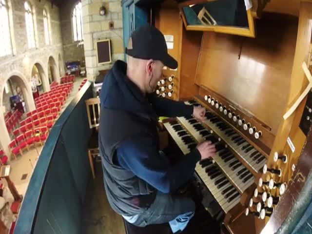 Intersteller Performed On A Church Organ Is Simply Breathtaking