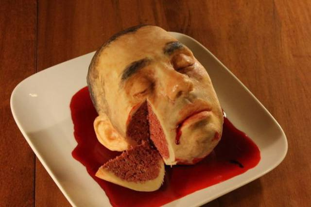 Creepy Cakes That Are Awesome But Very Unsettling