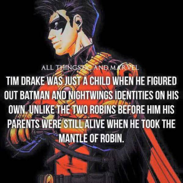 Superhero Facts You