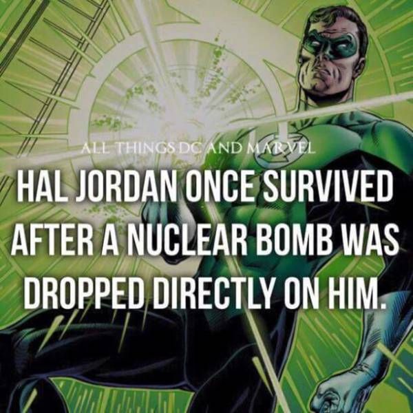 Superhero Facts You