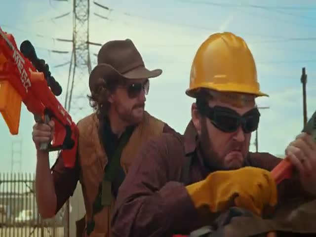 Epic Nerf Action Video: Nerf Team Fortress