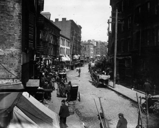 The Slums Of New York In 1890s