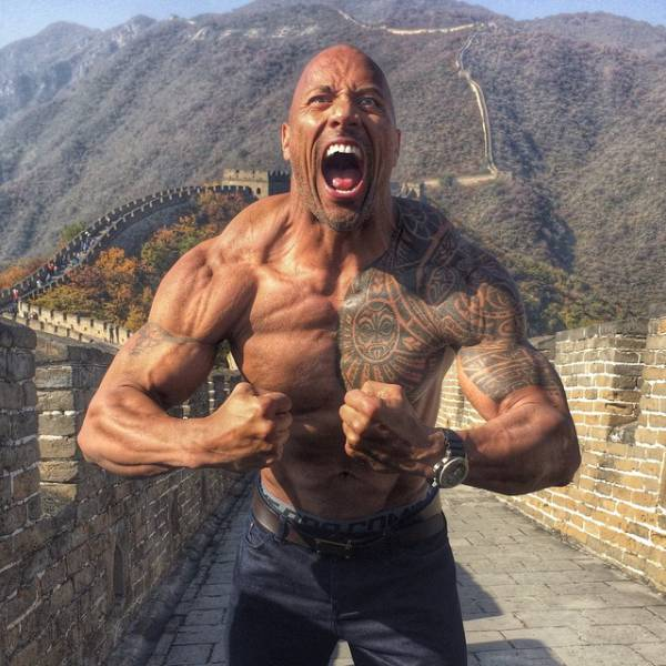 The Rock Can Do All This Stuff That None Of Us Can