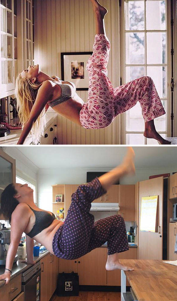 This Woman Knows How To Hilariously Recreate Instagram Photos Of Celebrities