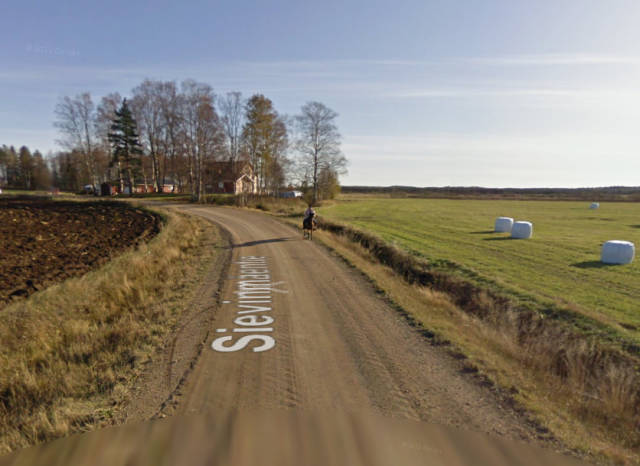 What Happens When A Horse Meets A Google Street View Car