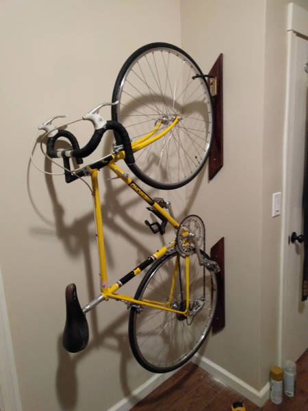 Cool Space Saving Bike Rack Easily Done