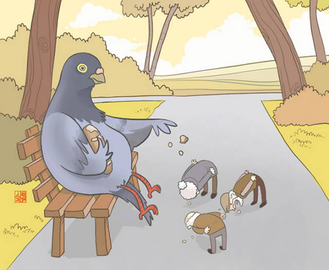 Illustrations That Show What It Would Be Like For Humans If They Switched Places With Animals