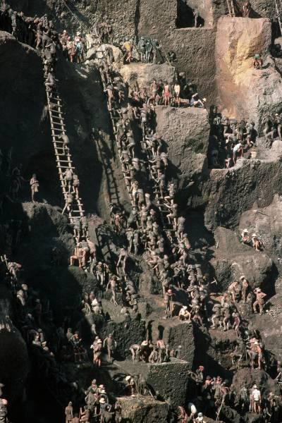 Gold Rush In Brazil In The 80