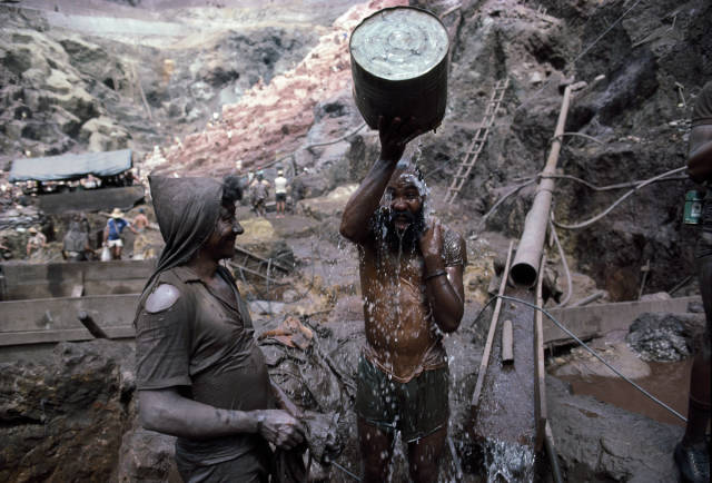 Gold Rush In Brazil In The 80