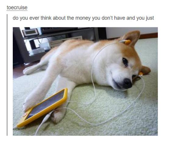 This Sums Up Perfectly When You Were Broke In Your Twenties