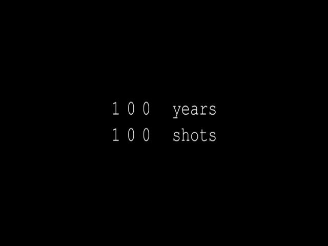 Amazing Video Of 100 Years Of Film Shots