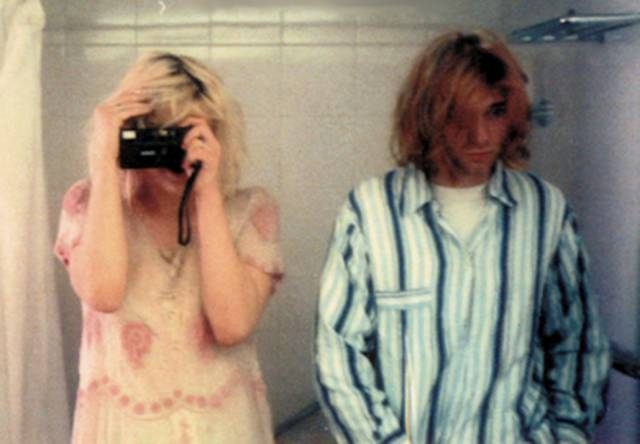 Rare Photos From Kurt Cobain And Courtney Love