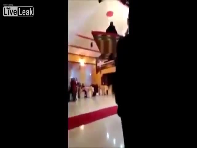 Biggest Wedding Grand Entrance Fail Ever