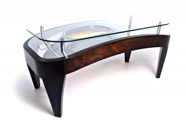 Stunning And Elegant Furniture Made From Authentic Parts Of Old Aircrafts