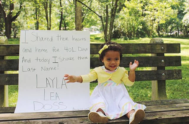 Touching Photos Of Kids Who Found Their Forever Families