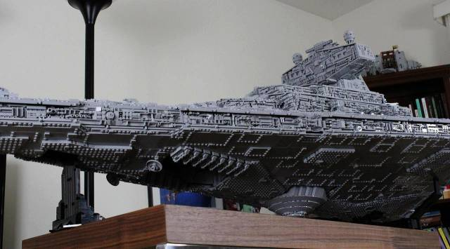 Any Star Wars Fan Would Love To Have This Lego Imperial Star Destroyer