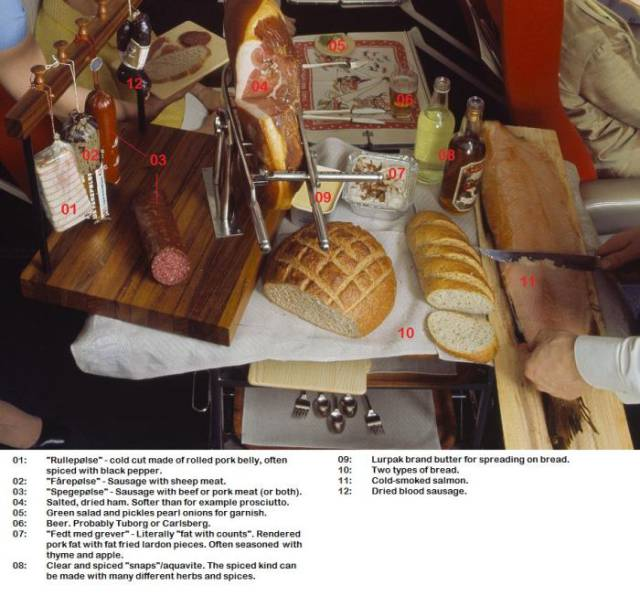SAS Scandinavian Airlines Had Great Service And Delicious Food In 1969