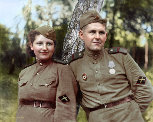 Vintage Colorized Photos Of Russia And Its People Taken Between 1900-1965