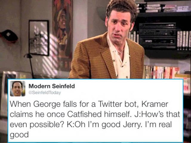 Seinfield Adventures In Modern Setting