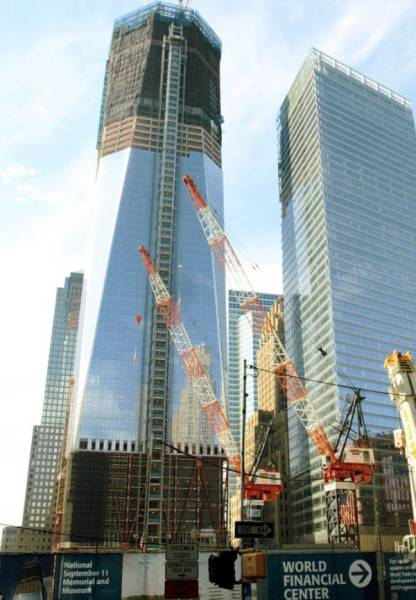 "One World Trade Center Is America's New Symbol: The ""Freedom Tower"""