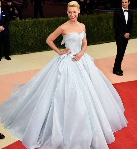 Beautiful Glowing Dress Of Claire Danes Didn